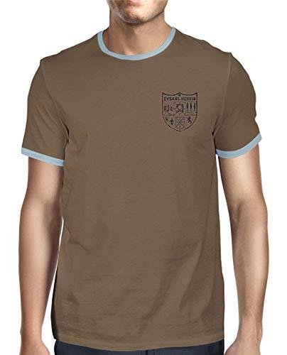 latostadora - Camiseta Zazpiak Bat Euskal para Hombre Chocolate M