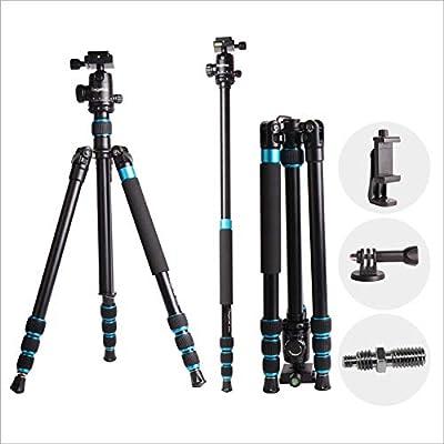 63 inch camera tripod for for Canon Nikon Sony Olympus DV Gopro