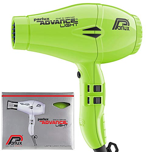 Parlux Advance Light - Secador de pelo ionico, Verde
