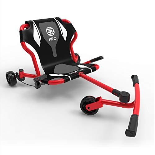 EzyRoller New Drifter Pro-X Ride on Toy for Kids or Adults, Ages 10 and Older Up to 200 lbs. - Red