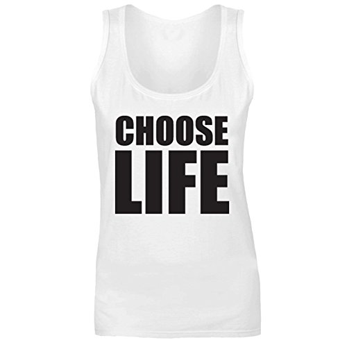 Choose Life Vest Top for Men and Women, Separate Sizing