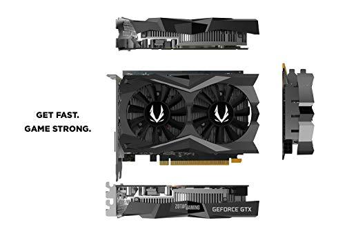 ZOTAC Gaming GeForce GTX 1650 Super Twin Fan 4GB GDDR6 128-Bit Gaming Grafikkarte, Super Compact, Zt-T16510F-10L