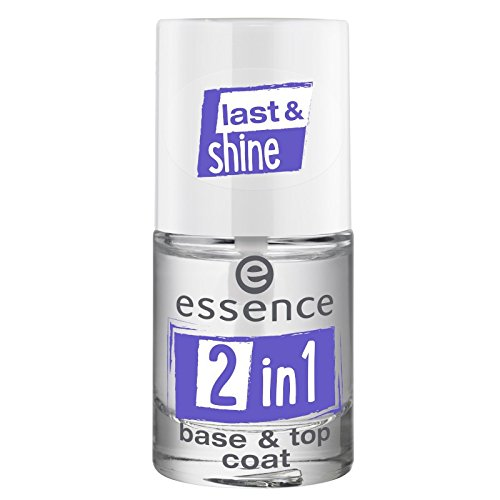 essence - Top Coat - 2in1 base & top coat