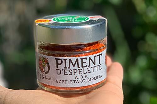 Piment d´Espelette AOP original 40g im Glas - Chili mit fruchtiger & dezenter Schärfe