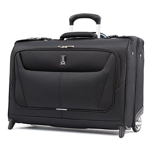 Travelpro Maxlite 5-Lightweight Carry-On Rolling Garment Bag, Black, 22-Inch