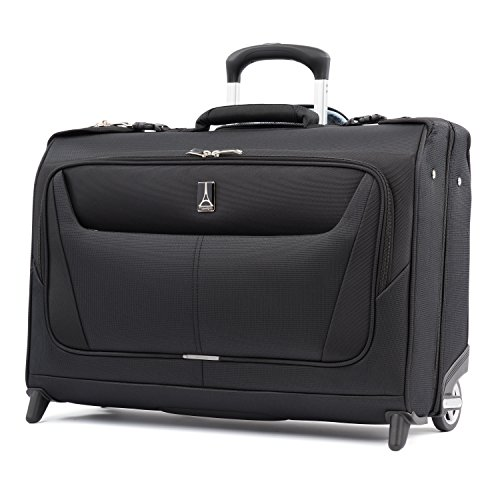 Travelpro Maxlite 5-Lightweight Carry-On Rolling Garment Bag, Black, 22-Inch