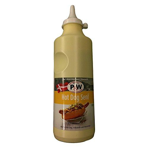 P&W Senfdressing 900g Squeezeflasche