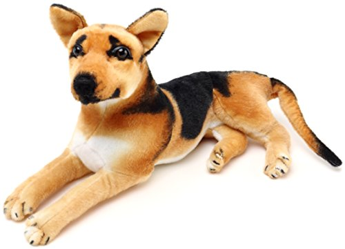 Hero The German Shepherd - 18 Inch Stuffed Animal Plush Dog - by Tiger Tale Toys