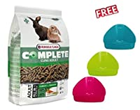 Cuni Complete Economy Pack 2 x 1.75kg is a healthy, balanced food, especially adapted to the needs of rabbits Each piece contains the same mixture of ingredients, making selective feeding impossible. Cuni Complete Rabbit Food contains no grains and i...