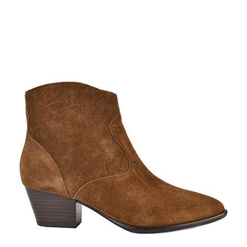 ASH Schuhe Heidi Bis Russet Boots aus Wildleder Damen 36 Russet