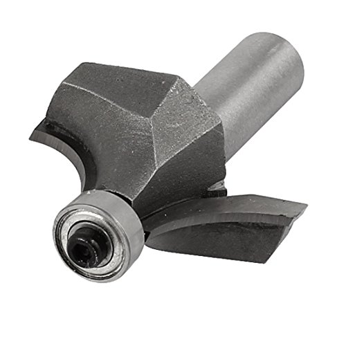 Aexit End Bearing Corner Roundover Router Bit Tool Replacement 1/2
