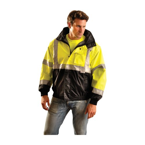 Occunomix Occulux Bomber Jacket XL Black/Yellow