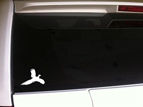 Pheasant Silhouette Decal Vinyl Sticker 5.5'G69 Hunting Hunter Outdoors Bird Dog Guns