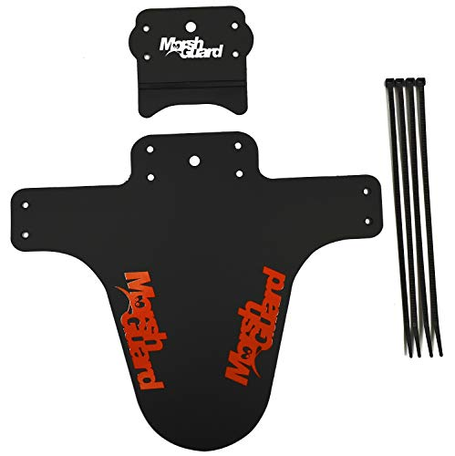 MARSH GUARD Plus Mud Schutzblech Fender The Stash'' Zusatz für Schutzblech (Schwarz/Logo Orange)