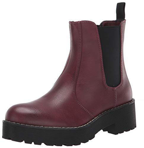 Dirty Laundry by Chinese Laundry Women's Margo Ankle Boot, Burgundy, 8 M US