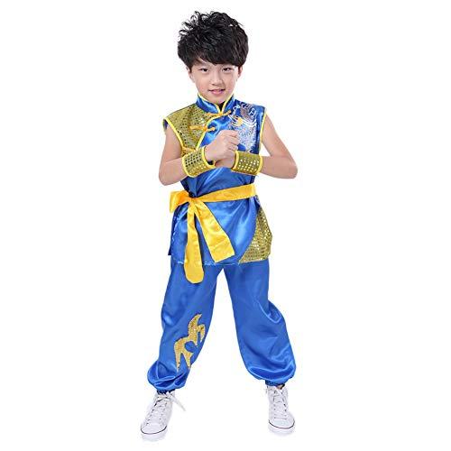 Meijunter Chino Kung Fu Traje - Tai Chi Artes marciales Etapa Rendimiento Uniforme Ejercicio...