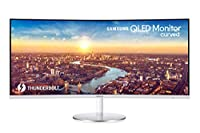 "Samsung C34J791 - Monitor Curvo de 34"" (UltraWide QHD, 4 ms, 100 Hz, FreeSync, LED, VA, 21:9, 3000:1, 1800R, 300 cd/m², 178°, Thunderbolt, HDMI, Base Redonda) Plata"