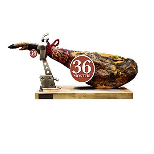 Jambon Espagnol 7 BELLOTAS® Ibérique de PATA NEGRA 36 Mois (+ 7,5 Kg.) | Cebo de Campo 75% Ibérico