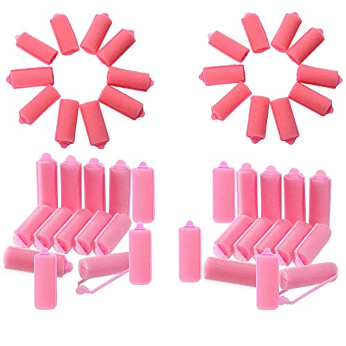 Lockenwickler aus weichem Schaumstoff, 48 Stück