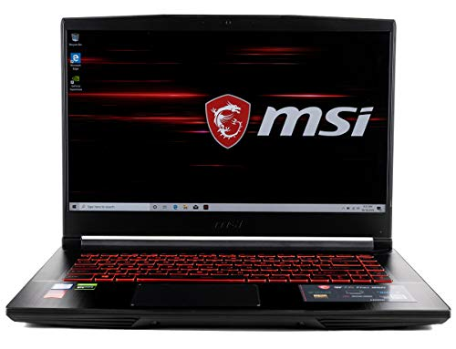 "CUK MSI GF65 Thin Gaming Laptop (Intel i7-9750H, 32GB RAM, 1TB NVMe SSD, NVIDIA GeForce RTX 2060 6GB, 15.6"" FHD 120Hz IPS-Level, Windows 10 Home) Gamer Notebook Computer"