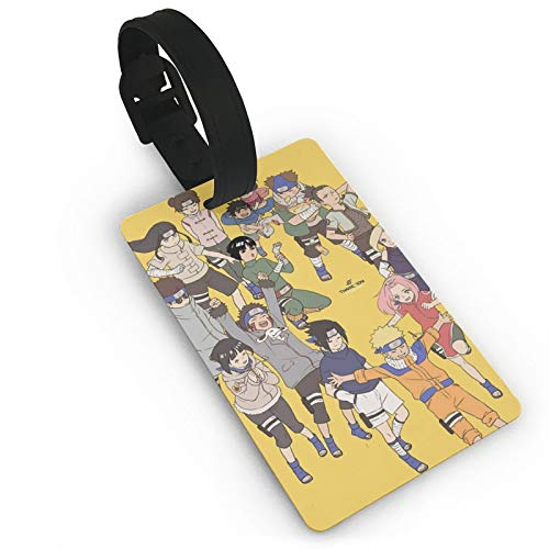DNBCJJ Luggage Tags for Suitcases Naruto Family Luggage Tag,with Name ID Suitcase Women Men's Children's Travel Accessories