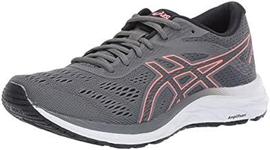 ASICS Women's Gel-Excite 6 Running Shoes, 9.5, Steel Grey/Papaya