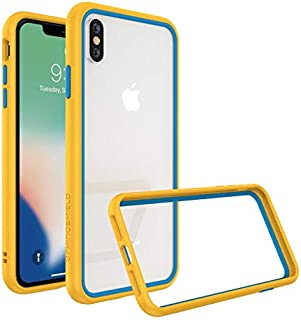 Protective Frame from RhinoShield CrashGuard NX for iphone XS yellow with blue