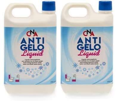 Antigelo Serbatoi Camper acque Nere e Grigie 2 Bottiglie lt. 2 cadauna
