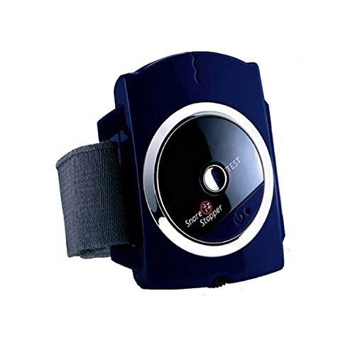 BAIAA Biosensor Anti Ronquidos, Dispositivo de Ronquido de Muñeca Ronquido Apagado de la Muñequera el Equipo de Ayuda Electrónica para Dormir de la Muñequera Detects