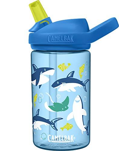 CAMELBAK Jungen Eddy Trinkflasche, Sharks and Rays, 400 ml