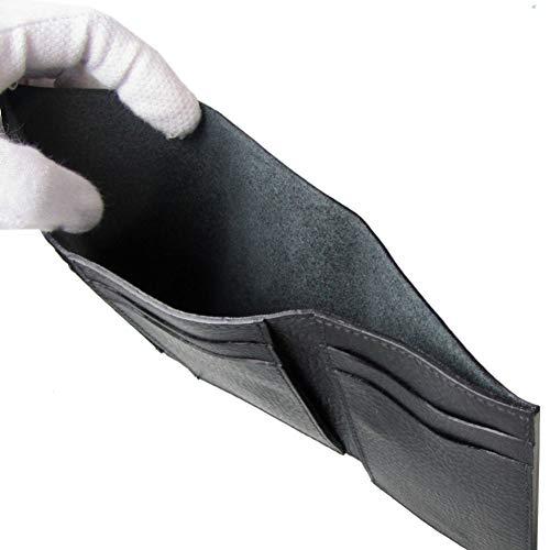 イルビゾンテ財布メンズレディースミニ財布小銭入れなしバケッタレザーブラックC1112EP153O[並行輸入品]