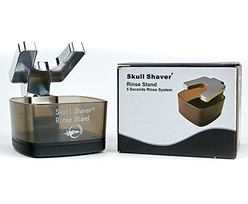 Skull Shaver Rinse Stand Compatible With All Electric Butterfly Pro, Smart, and Bald Eagle Electric Shavers For Men and Women