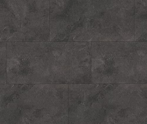 HORI® Klebe-Vinylboden Steinfliese anthrazit Münster massiv I für 12,62 €/m²