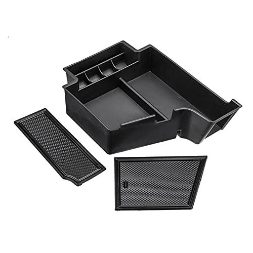 FeiL Store Caja de la placa de almacenamiento de la placa de almacenamiento de la placa de almacenamiento de la bandeja de la bandeja del contenedor para VOLVO XC90 XC60 S90 V90 2017 2018 2019 2020