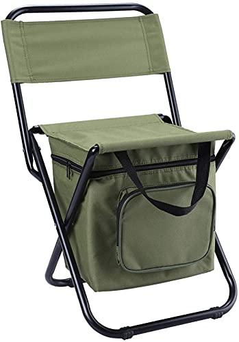 TXXM Silla de Mochila Silla de Camping Plegable con Soporte de Taza Ligero, Asiento al Aire Libre portátil de hasta 200 kg de Servicio Pesado, Camping jardín de Pesca en la Playa al Aire