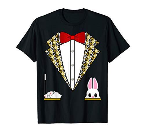 Magician Costume Shirt Funny Tuxedo Shirt For Kids & Adults