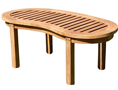 ASS Teak Sofa Tisch Holztisch Beistelltisch Gartentisch Kaffeetisch Garten Tisch 110x50cm JAV-Coco Holz von