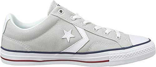 Converse Unisex-Erwachsene STAR PLAYER OX CLOUD GREY/WHITE Low-Top, Grau (Grau), 46 EU