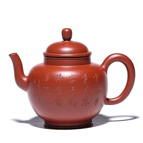 Té Dahongpao Pot Full Handmade Palace lámpara 410 ml tetera Kung Fu Tea Set