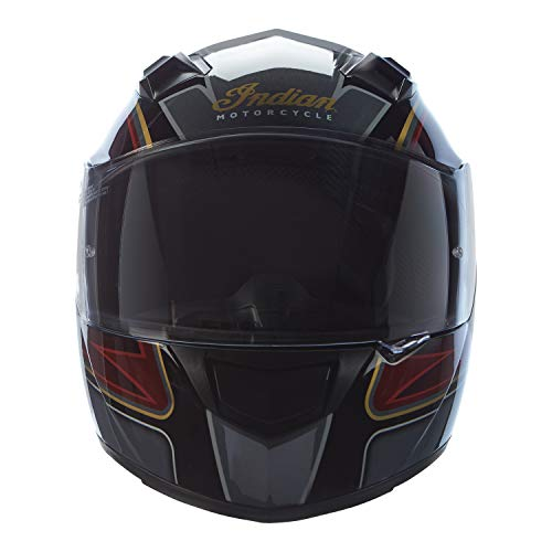 Indian Motorcycle Full Face Outpost Helmet, Red/Black - XL
