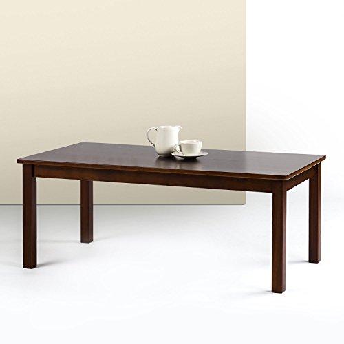 Zinus Jamie Espresso Wood Coffee Table