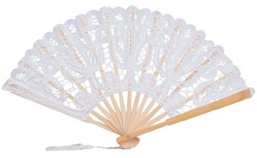 ivory hand fan - 3