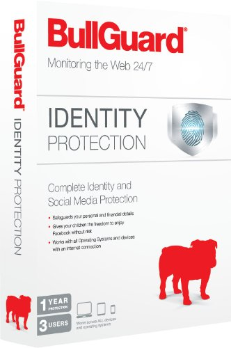 BullGuard Identity Protection - 1 Year, 3 User [import anglais]