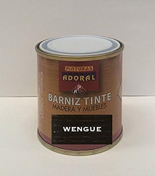 Adoral - Barniz Tinte Sintético Brillante 750 ml madera y muebles (Sapelly)