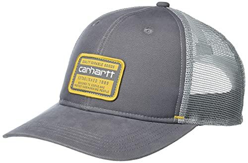 Carhartt Silvermine Cap Gorra de béisbol, Charcoal, One Size Unisex Adulto