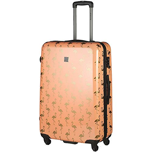Saxoline Golden Flamingo 4-Rollen Trolley 78 cm golden Flamingo