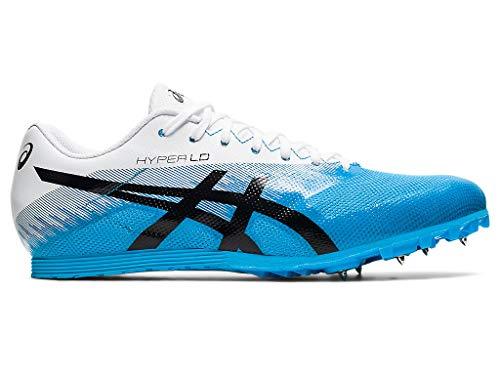 ASICS Unisex Hyper LD 6 Track & Field Shoes, 9.5M, Digital Aqua/Black