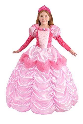 Ciao- Principessa d'Austria Costume Carnevale per Bambini, Rosa, 8-10 anni, 18470.8-10