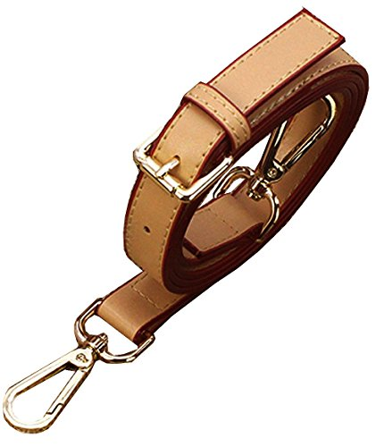 Adjustable Synthetic Leather Quality Replacement Interchangeable Shoulder Bag Strap Bag Accessories -Beige