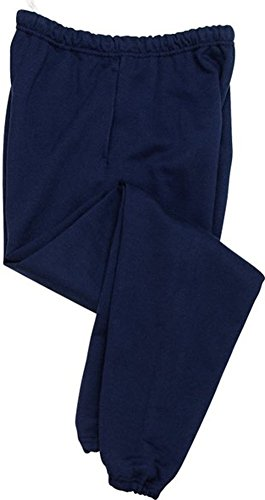 Joe's USA - Mens Super Sweatpants with Pockets-Navy-L